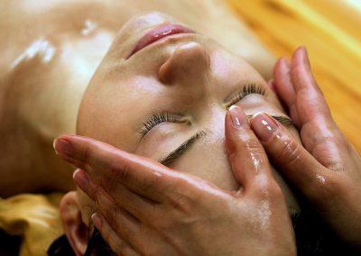 ayurvedische hoofdmassage